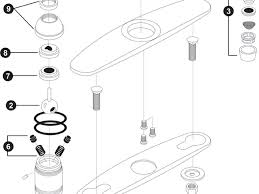 Awesome Parts Of A Faucet For Interior Designing Home Ideas With - Kitchen sink faucet parts diagram