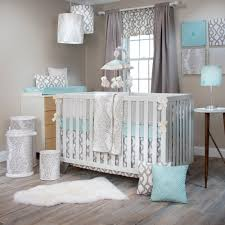 Gray Crib Bedding Sets by New Glenna Jean Traffic Jam Luna U0026 Blossom Crib Bedding Sets