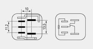 toyota car relays 5 pin 12v 24v 40a buy car relay 12v relay 5