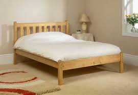 friendship mill shaker low foot end 5ft kingsize pine wooden bed