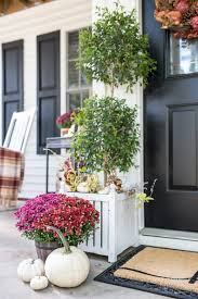 plum and red mums fall porch home stories a to z