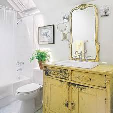 Salvage Bathroom Vanity by 28 Ways To Refresh Your Bath On A Budget Dresser Sinks And