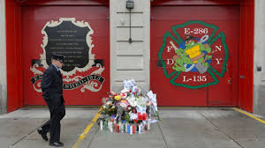 william tolley fallen fdny firefighter remembered at wake fdny engine 286 and ladder 135 in ridgewood firefighter