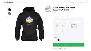 kã chenlen design social media users slam ka design s swastika line news al jazeera