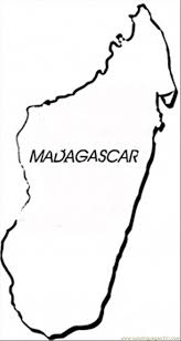 Madagascar Coloring Free Africa Coloring Pages