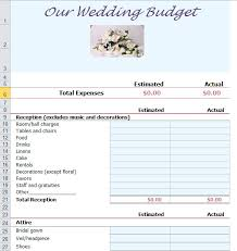 wedding budget planner wedding budget template excel budget wedding