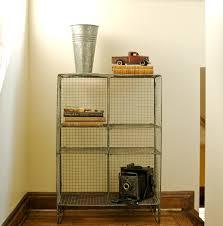 vintage metal wire baskets and bookshelves hudson goods blog