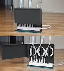 organize cords on desk 15 diy cord and cable organizers for a clean and uncluttered home
