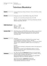 Layout Of Resume For Job by Resume Format For Job Fresher Http Jobresumesample Com 1096