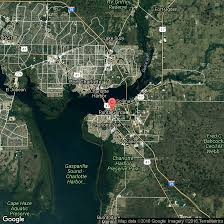 Florida Map With Beaches by Beaches In Charlotte Harbor Florida Usa Today