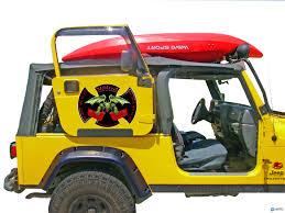 badass 2 door jeep door rack for all soft top 2 door jeeps jeep wrangler tj 1997