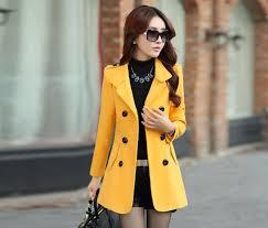 spring and autumn windbreaker jacket shorts paragraph ladies long