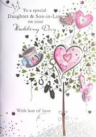 wedding day congratulations and in on your wedding day special