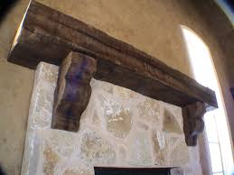 custom rustic mantel with corbels rustic fireplace mantels