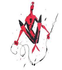repost maxulichney spidermang spiderman marvel comics ink