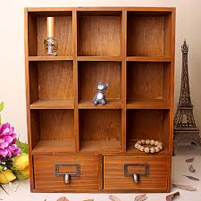Desk Top Organizer Hutch by Aliexpress Com Buy Russia Seller Wooden Desktop Storage Box Diy