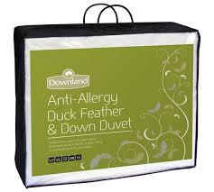 Duck Feather And Down Duvet Reviews Buy Downland Duck Feather U0026 Down Anti Allergy 15 Tog Duvet Dbl