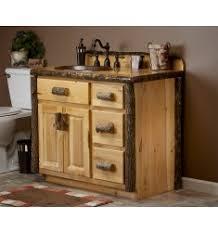 Rustic Bathroom Medicine Cabinets by Hickory Bathroom Vanities And Medicine Cabinets