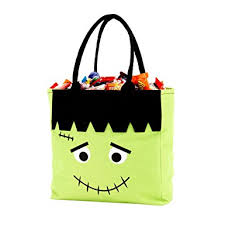 personalized trick or treat bags custom personalized character bag trick or
