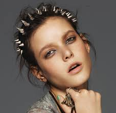 spiked headband this way for fashion studs spikes