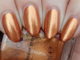 avon powerful copper swatch by plenty of colors nailpolis
