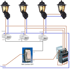 interesting wiring outside lights diagram wiring an outside light