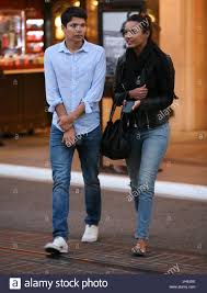jessica lucas jessica lucas and a friend leaving the movies in