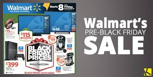 walmart early black friday sale ad preview starts tomorrow 11 21