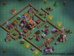 coc village layout level 5 clash of clans best top 3 builder hall 5 base for trophies bh5