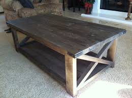 rustic coffee tables rustic x coffee table do it yourself home