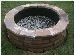 Firepit Pavers Cement Paver Pit Beauross