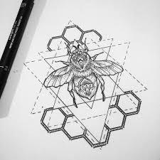best 25 hexagon tattoo ideas on pinterest geometric mountain