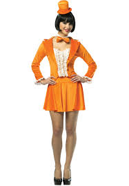 dumb dumber halloween costumes ladies dumb u0026 dumber orange costume lloyd escapade uk