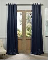 Blackout Navy Curtains Savings On Navy Blue Blackout Curtains