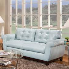 Baby Blue Leather Sofa This Baby Blue Leather Sofa Is Extremely Popular Contemporary
