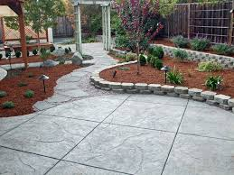 Concrete Backyard Ideas Concrete Masonry Contractor San Jose Ca Evergreen Concrete