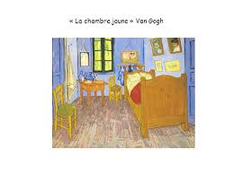 analyse du tableau la chambre de gogh gallery of gogh improbable g nie chambre jaune gogh