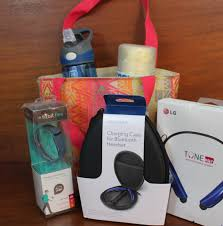 fitness gift basket pci foundation expanding our reach raffle baskets ready for