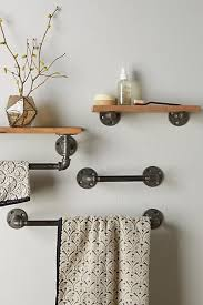 Bathroom Towel Shelves Wall Mounted The Toilet Towel Rack Wall Mounted Towel Holder Black Towel