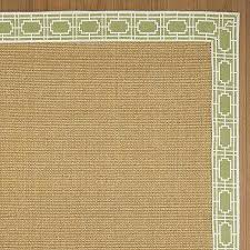 Square Sisal Rugs Hand Woven Grey Sisal Rug 8 U0027 Square Overstock Com