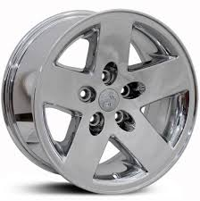 jeep wheels white jeep 16x8 wrangler jp18 pvd chrome rwd wheels u0026 rims buy 169