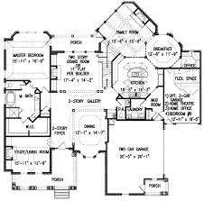 european style house plan 5 beds 5 50 baths 3450 sq ft plan 54 142