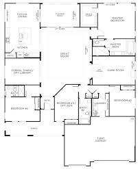 one story floor plans with bonus room brick house plan love this layout with extra rooms single story