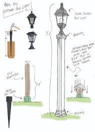 Outdoor Light Post Fixtures by Best 25 Outdoor Solar Lighting Ideas On Pinterest Lamp Bases