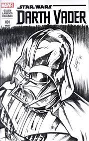 darth vader sketch cover by bphudson on deviantart