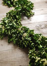 artificial boxwood wreath boxwood and statice garland