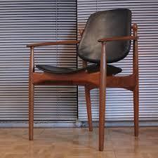 Leather Arm Chairs Arne Vodder Model 204 Teak U0026 Leather Armchair 1950s 65377