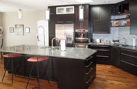 kitchen room awesome espresso kitchen island and chair sink also