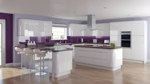 White Gloss Kitchen Cabinets by Contemporary White Gloss Kitchen U2013 Modern House