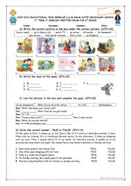 daily routines worksheet worksheet free esl printable worksheets